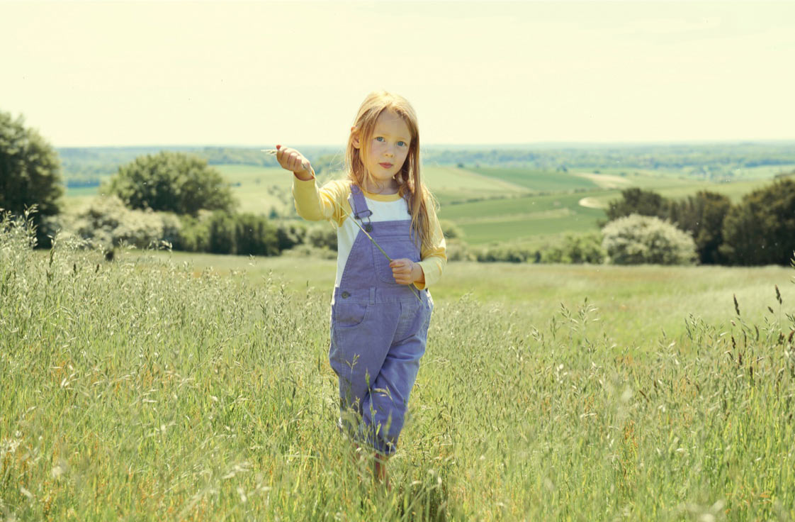 Lifestyle photography for Dotty Dungarees at KIDLY