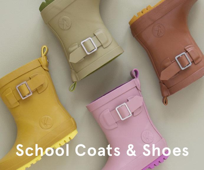 School Coats & Shoes