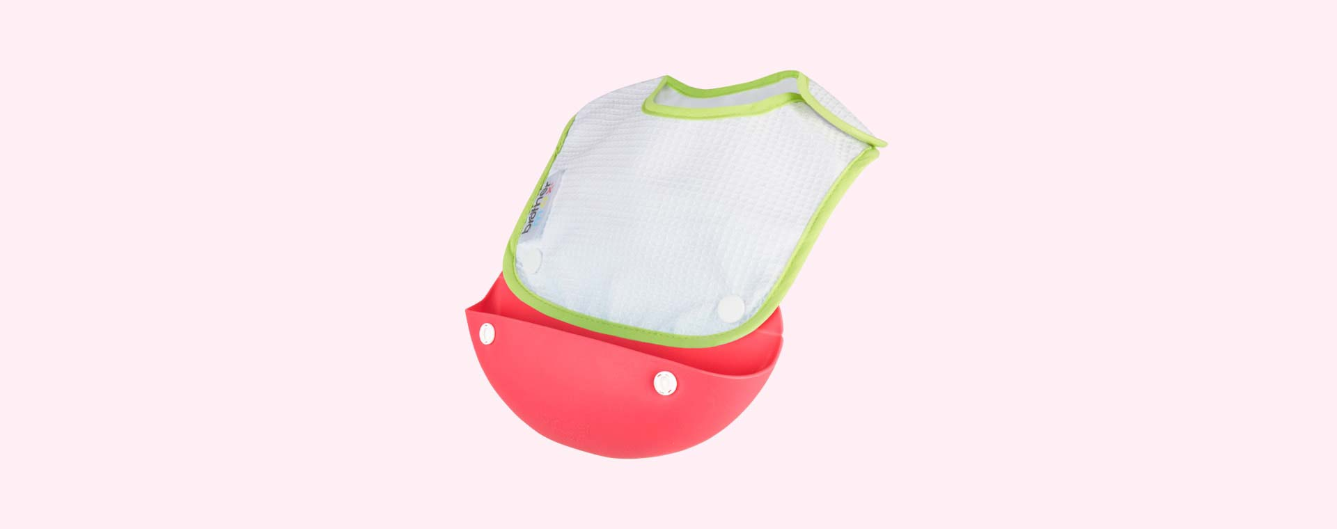 Pink Brother Max Catch and Fold Bib