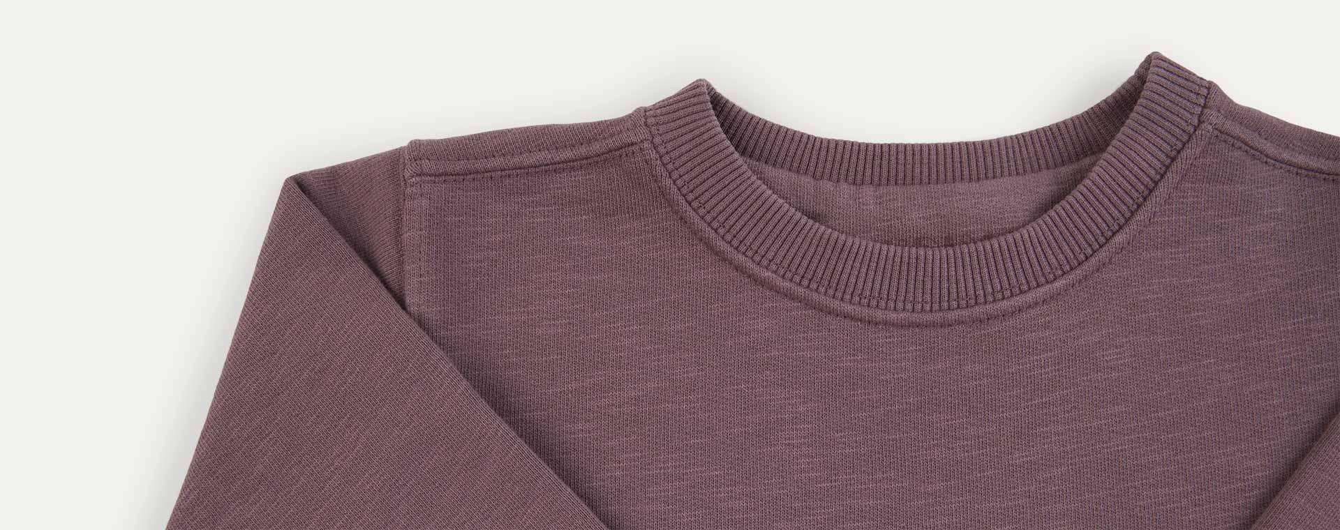 Damson KIDLY Label Organic Sweatshirt Dress