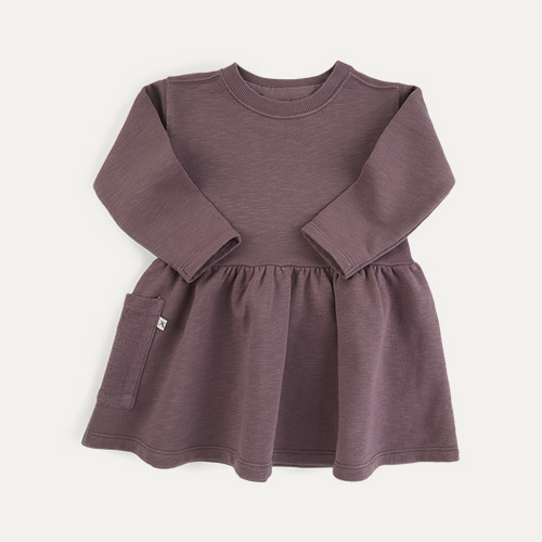Damson KIDLY Label Organic Sweatshirt Dress
