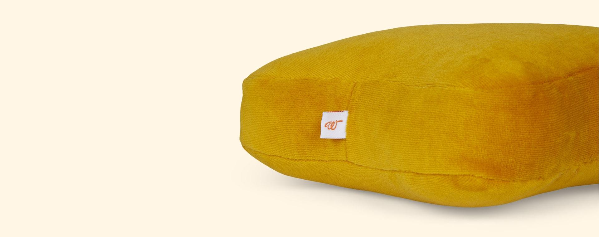 Mustard wigiwama Star Cushion