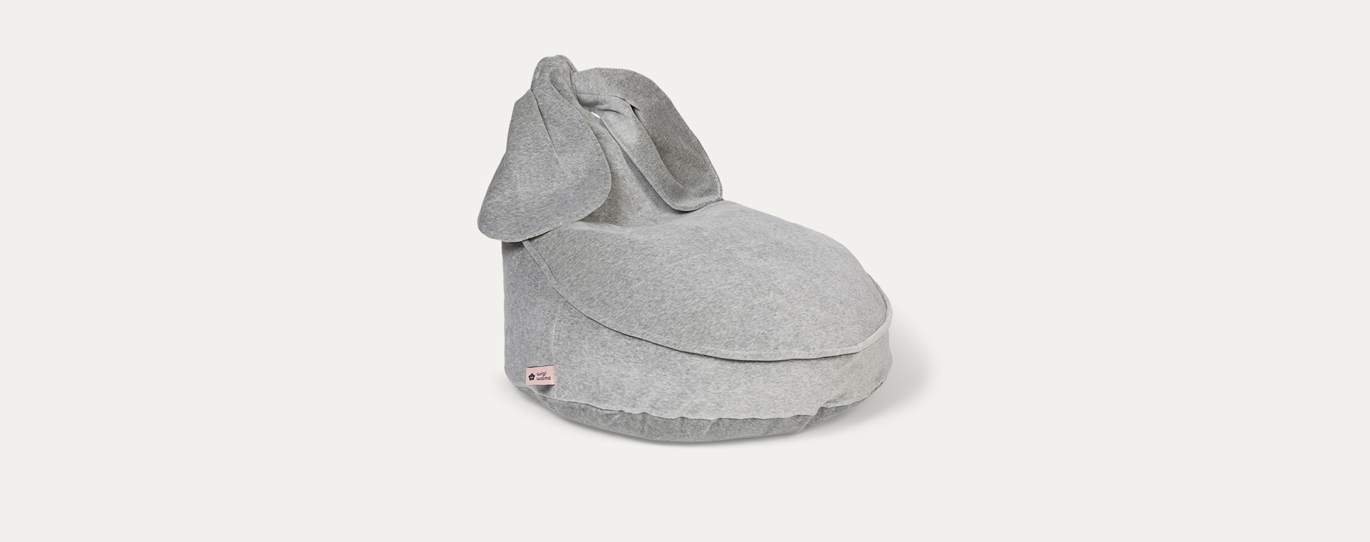 Grey wigiwama Bunny Beanbag