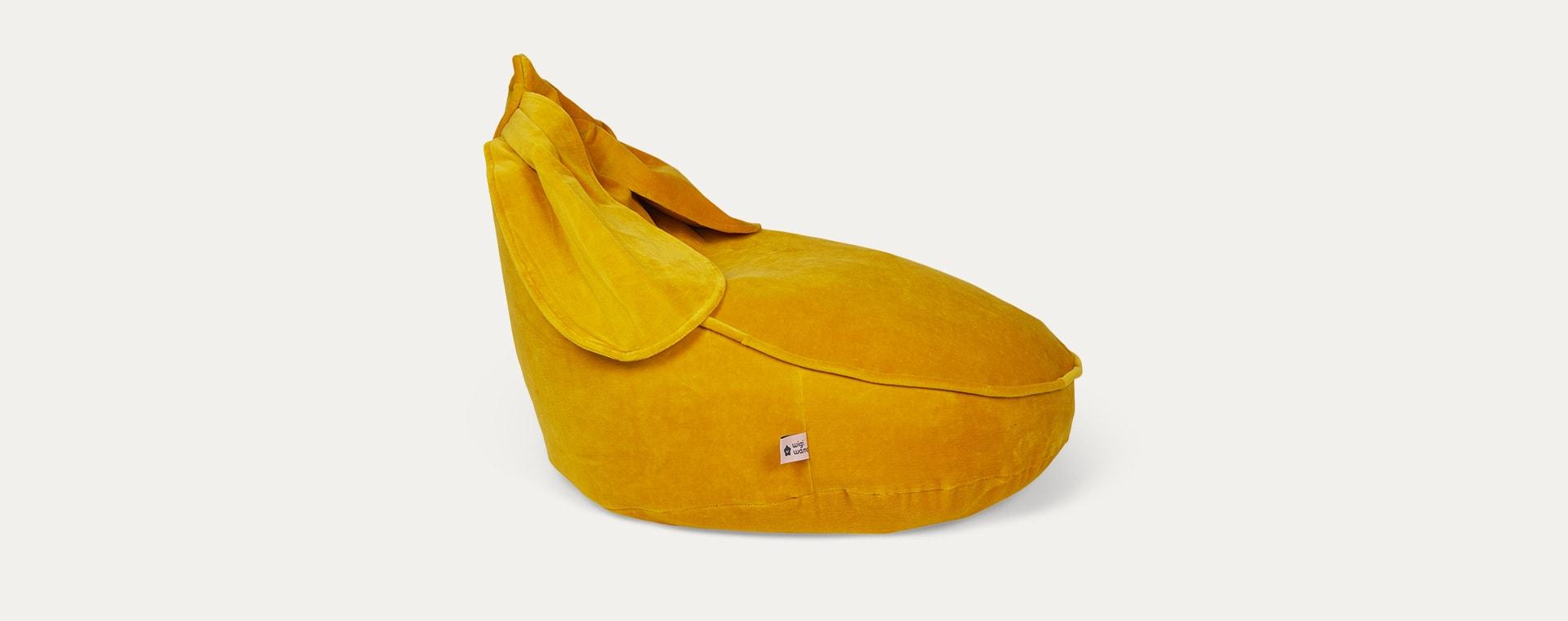 Mustard wigiwama Bunny Beanbag