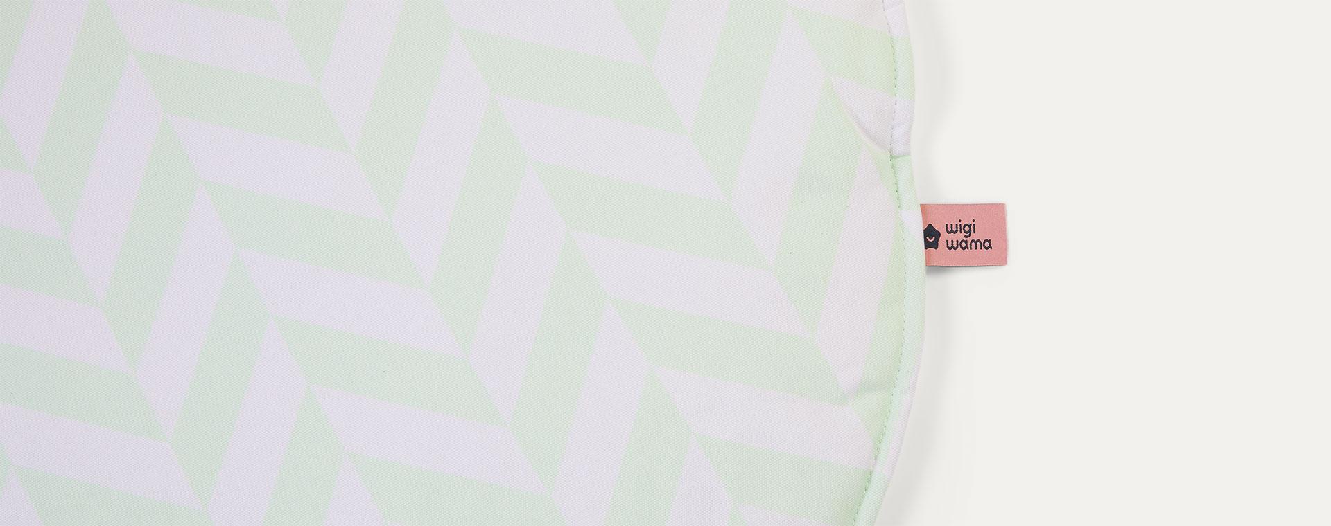 Mint Herringbone wigiwama Playmat