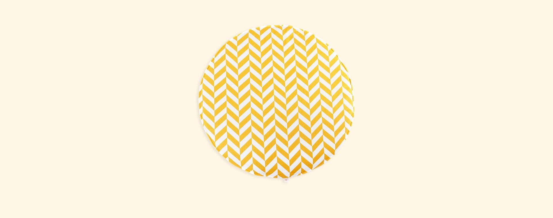 Mustard Herringbone wigiwama Playmat
