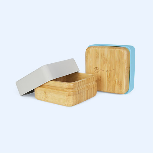 Blue/Grey eco rascals 2-Pack Snack Pots