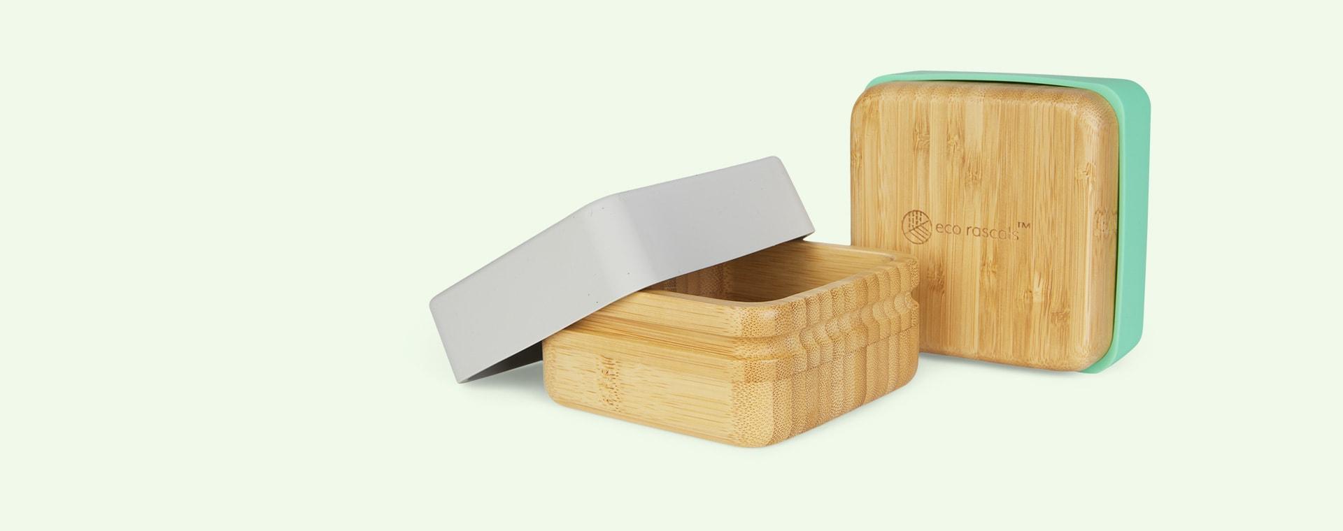 Green/Grey eco rascals 2 Pack Snack Pots