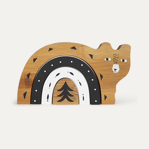 Bear Wee Gallery Bamboo Nesting Animal