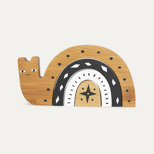 Snail Wee Gallery Bamboo Nesting Animal
