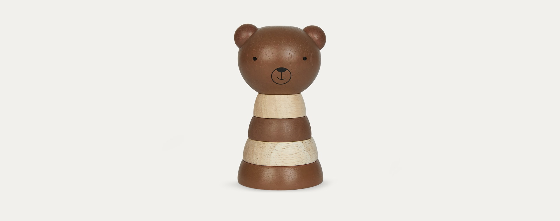Bear Wee Gallery Wooden Stacker