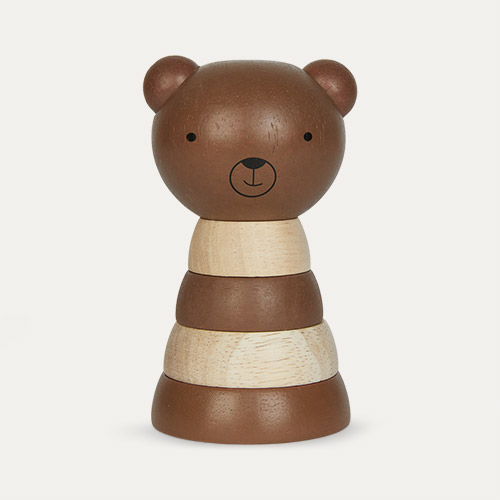 Bear Wee Gallery Wooden Stacker