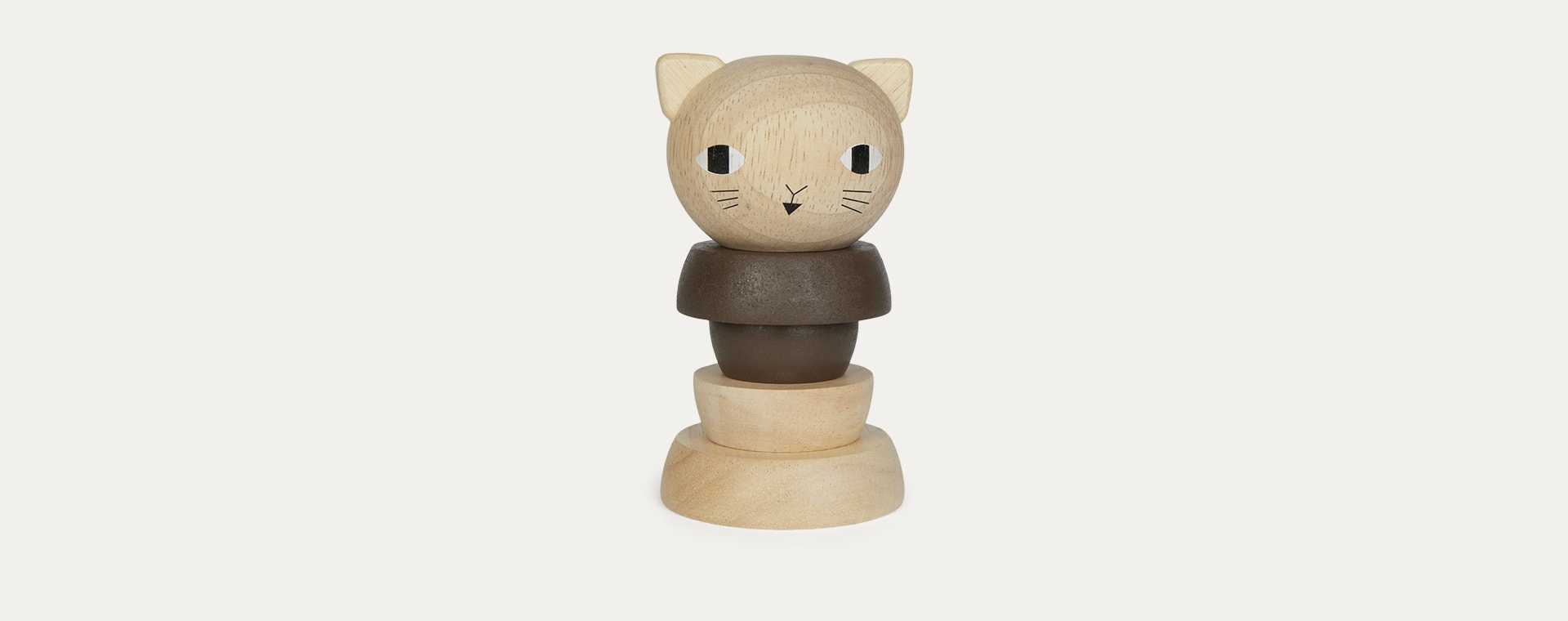 Cat Wee Gallery Wooden Stacker