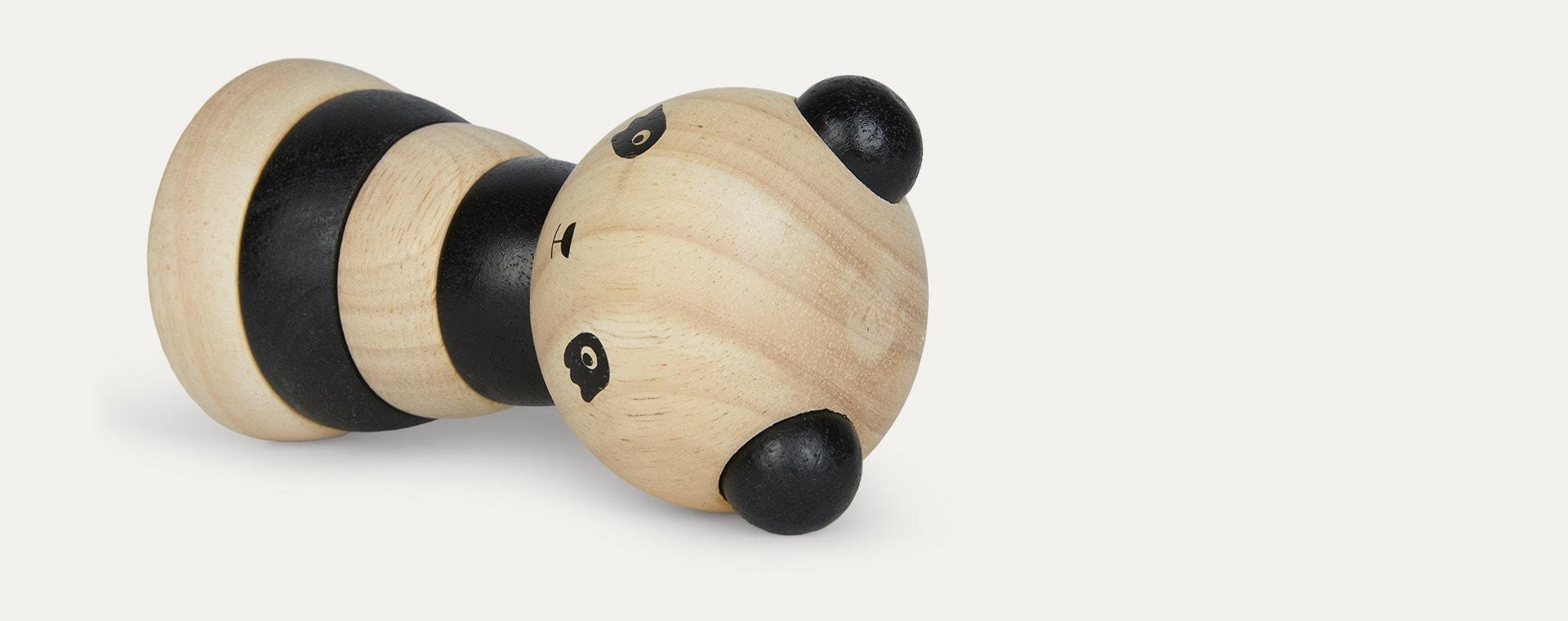 Panda Wee Gallery Wooden Stacker