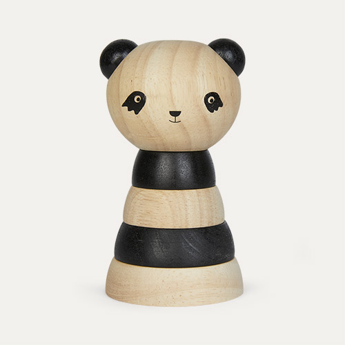 Panda Wee Gallery Wooden Stacker