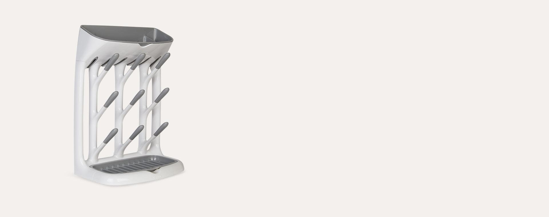 Grey OXO Tot Space Saving Drying Rack