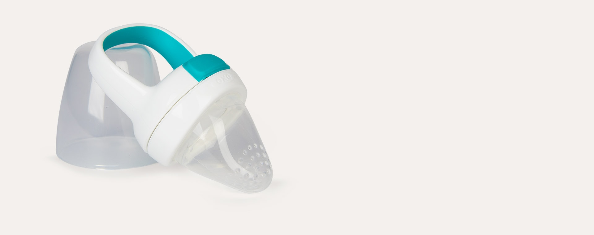 Teal Oxo Tot Silicone Self Feeder