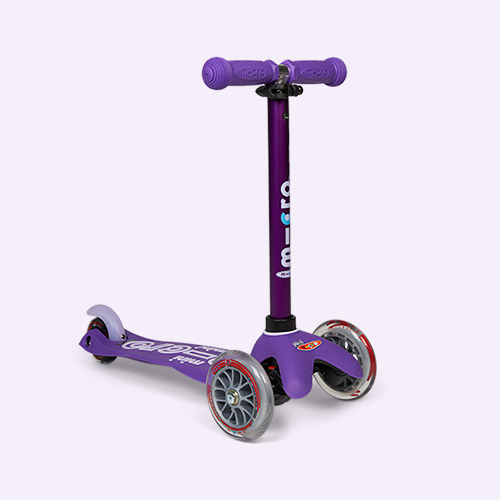 Purple Micro Scooters Mini Micro Deluxe Scooter