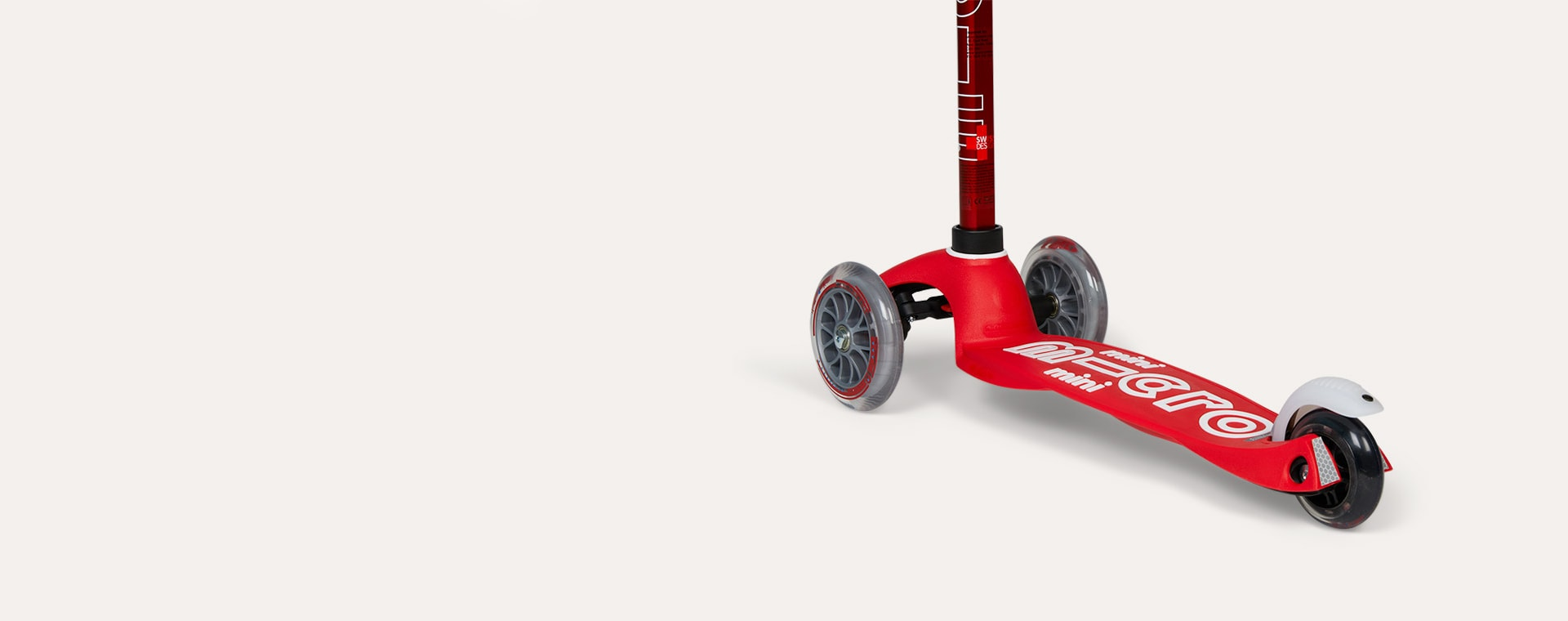 Red Micro Scooters Mini Micro Deluxe Scooter