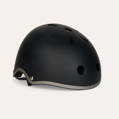 Black Micro Scooters Classic Deluxe Helmet