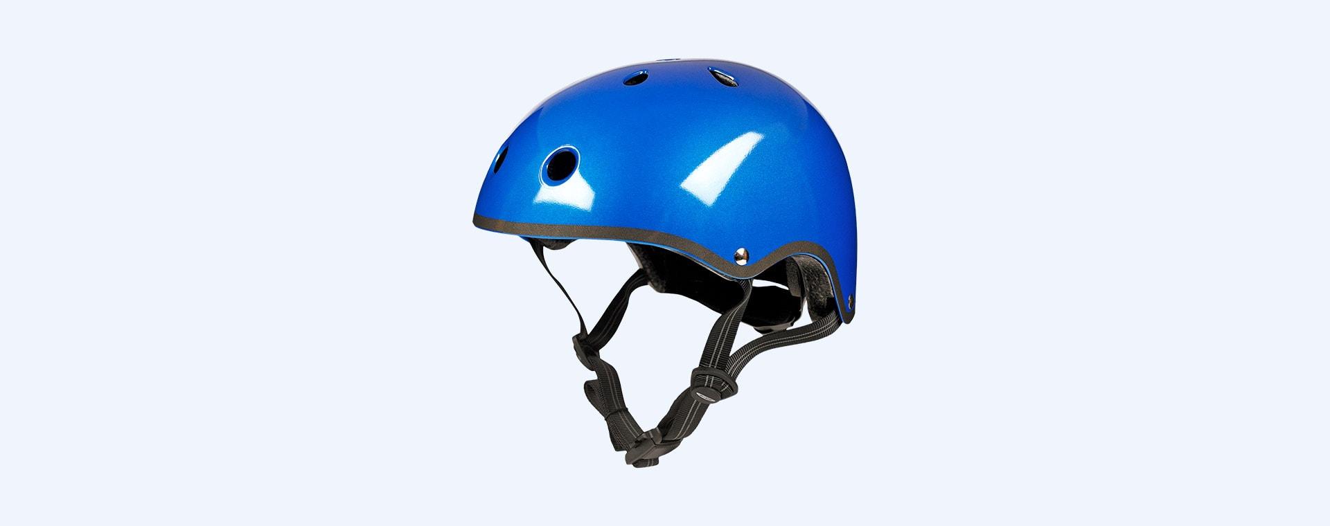 Metallic Blue Micro Scooters Classic Deluxe Helmet