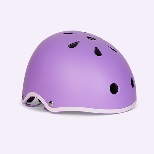 Purple Micro Scooters Classic Deluxe Helmet