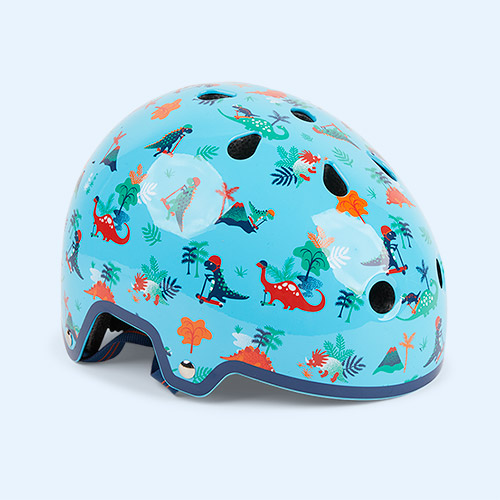 Scootersaurus Micro Scooters Pattern Deluxe Helmet