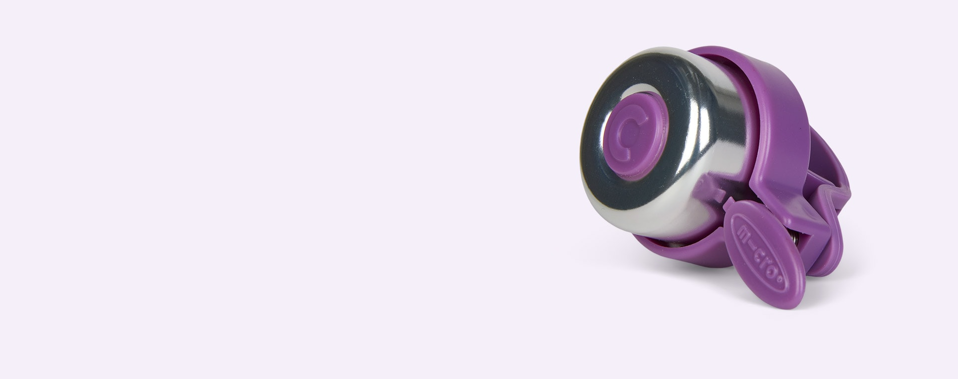 Purple Micro Scooters Plain Bell
