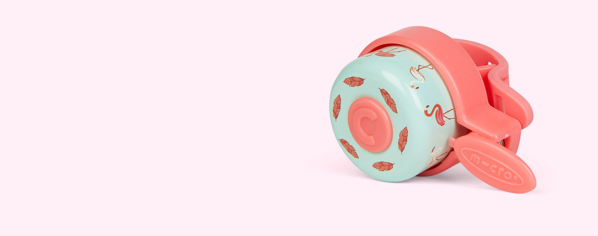 Flamingo Micro Scooters Pattern Bell