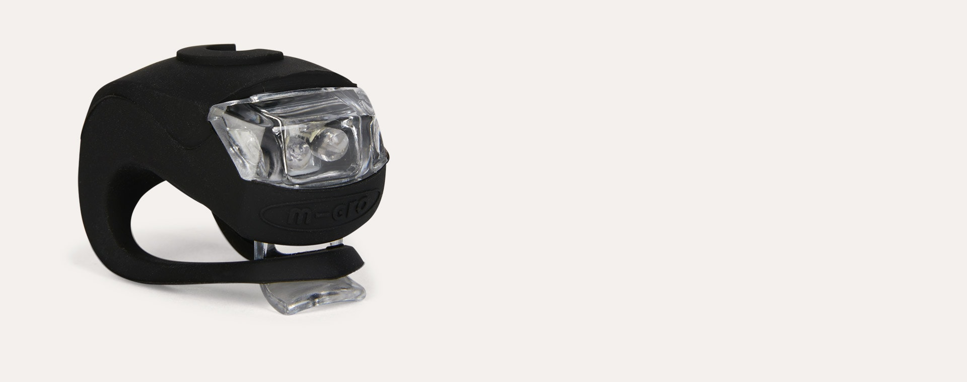 Black Micro Scooters Light