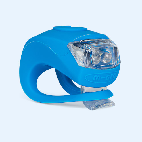 Neon Blue Micro Scooters Light