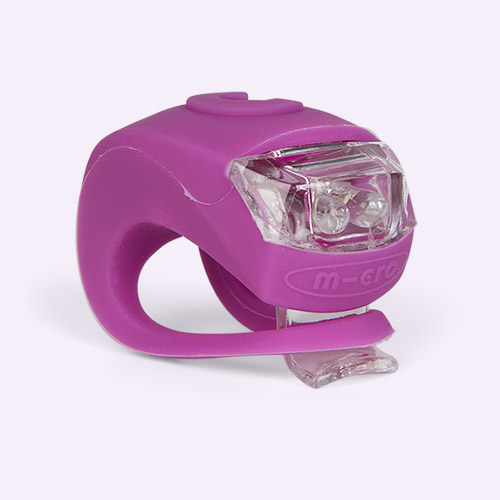 Purple Micro Scooters Light