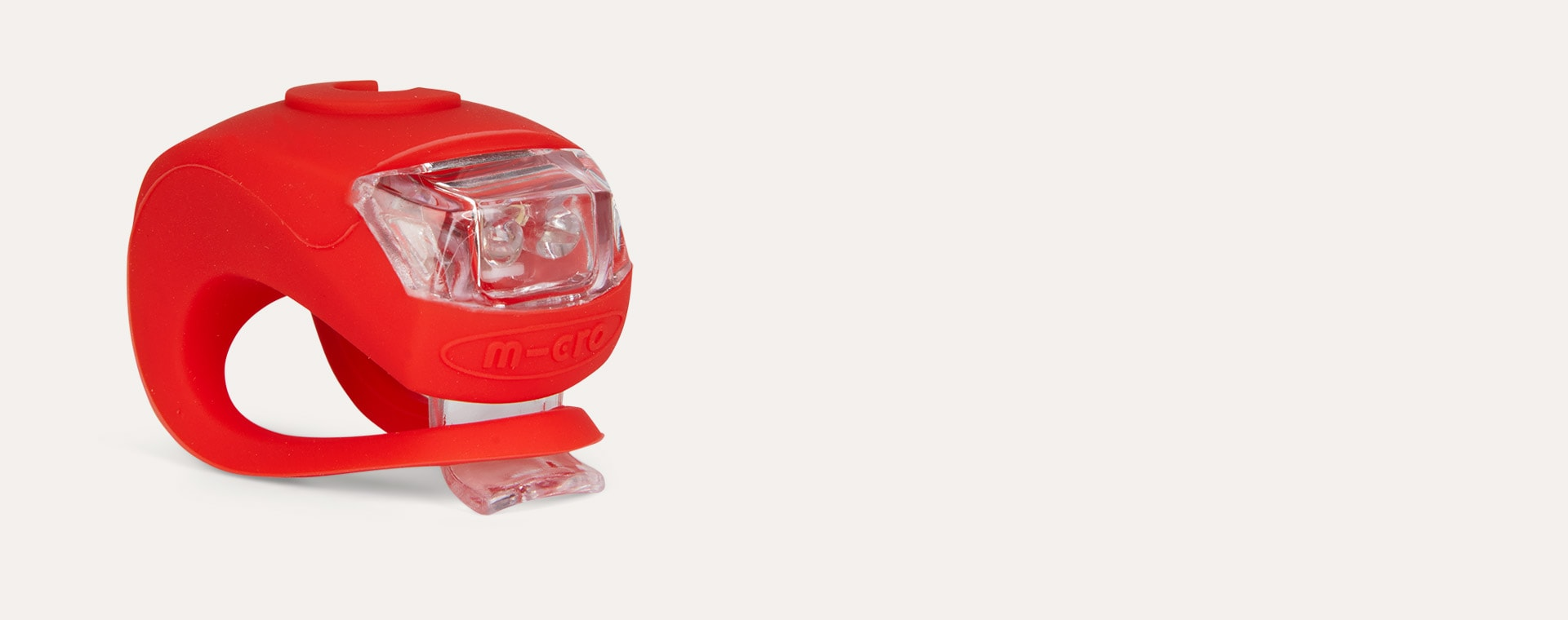 Red Micro Scooters Light