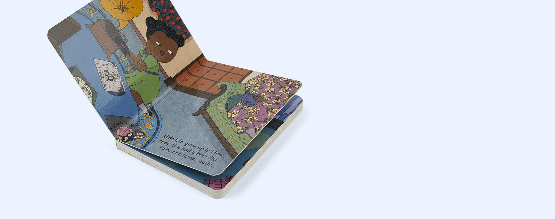 Multi bookspeed Little People Big Dreams: Ella Fitzgerald Board Book