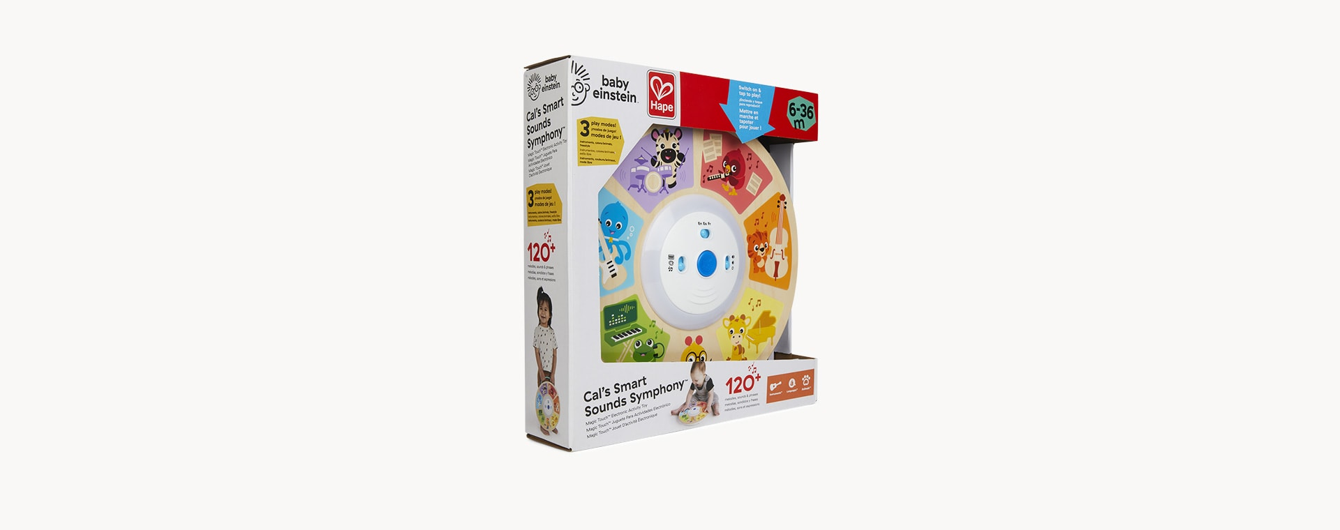 Multi Hape Cal's Smart Sounds Symphony Magic Touch Electronic Activity Toy