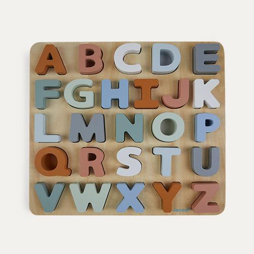 Multi Janod Sweet Cocoon Alphabet Puzzle