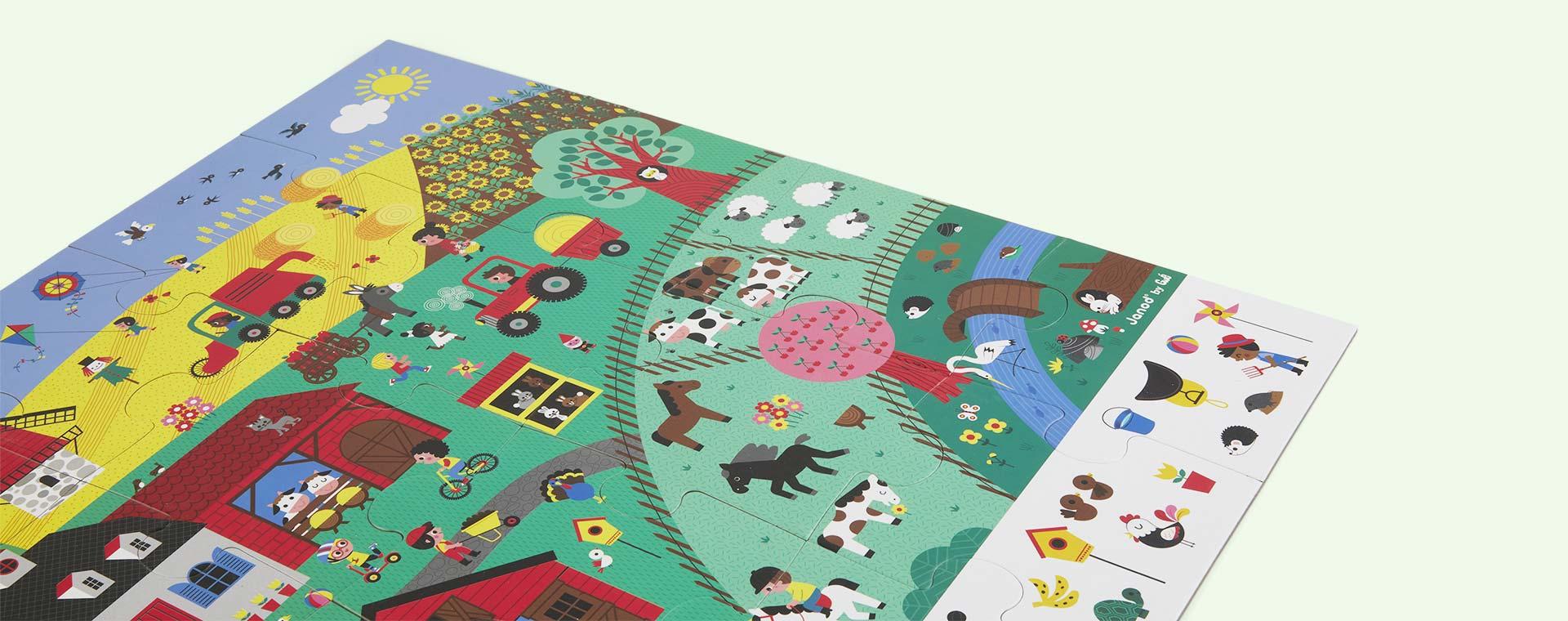 Multi Janod The Farm Observation Puzzle