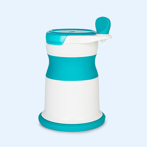 Teal Oxo Tot Mash Maker Baby Food Mill