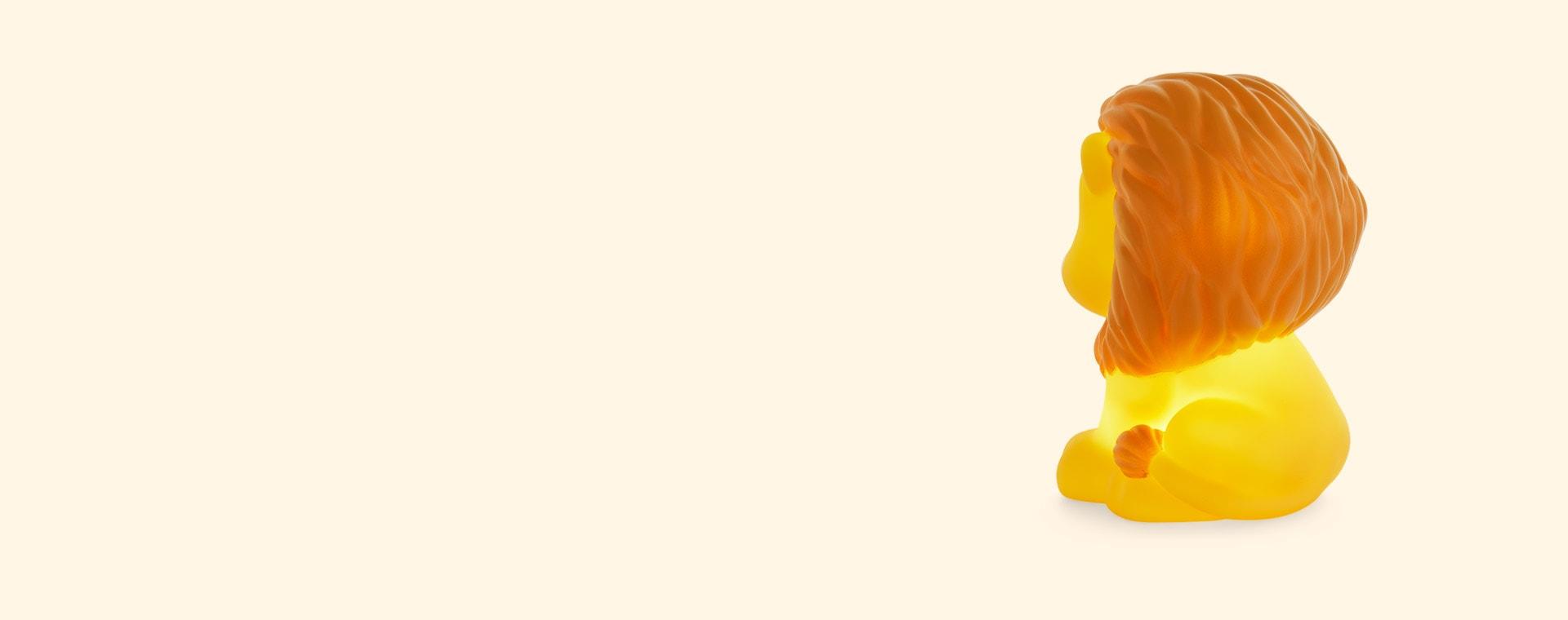 Yellow A Little Lovely Company Lion Nightlight