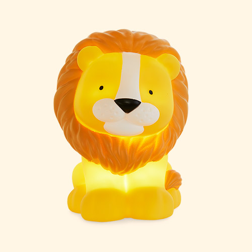 Yellow A Little Lovely Company Lion Nightlight