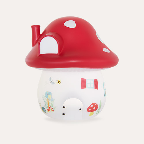 Forest A Little Lovely Company Mushroom House Nightlight