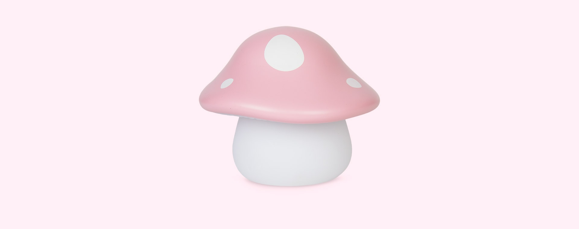 Pink A Little Lovely Company Mushroom Little Light