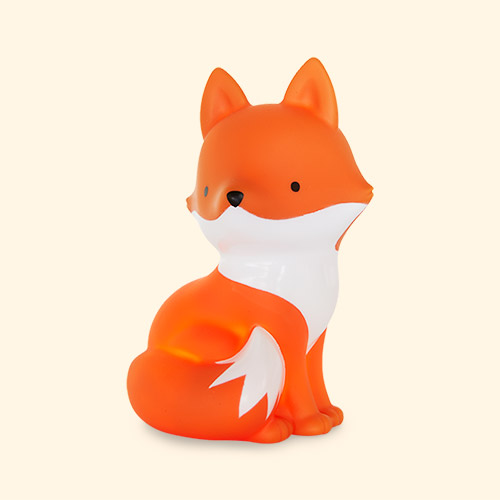 Orange A Little Lovely Company Fox Little Light