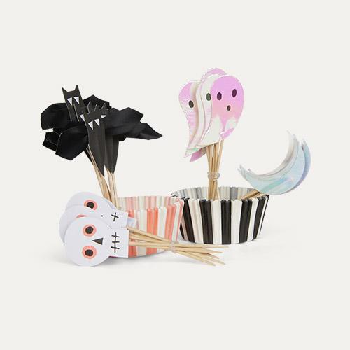 Multi Meri Meri Halloween Motif Cupcake Kit
