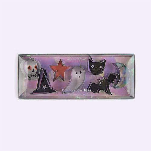 Multi Meri Meri Halloween Icons Mini Cookie Cutters