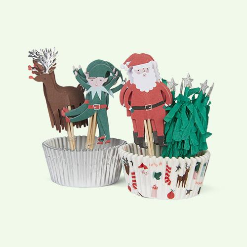 Multi Meri Meri Festive Icons Cupcake Kit