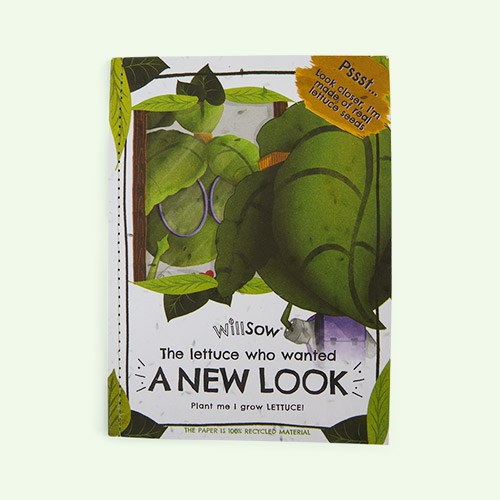 Green Willsow The Lettuce Who Wanted A New Look