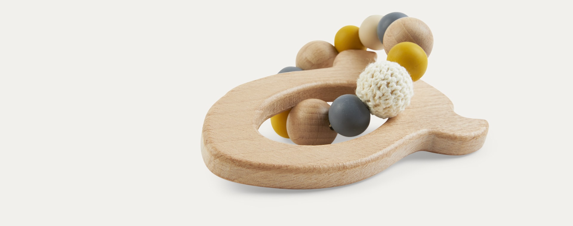 Mustard Pellianni Rocket Teether