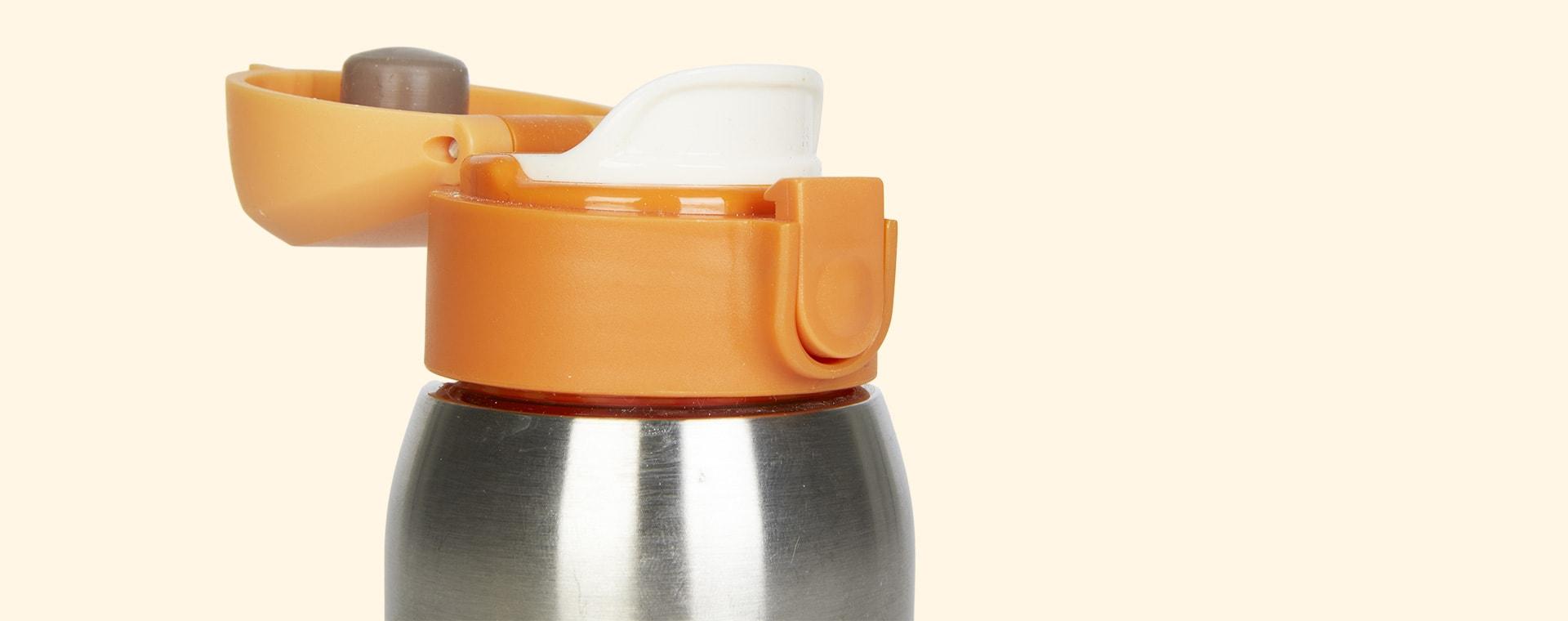 Orange Pellianni Thermos Bottle