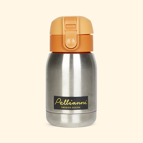 Orange Pellianni Thermos Bottle
